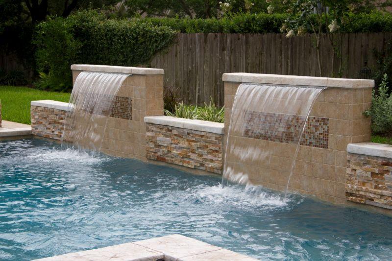 Katy Water Features Photos Houston Waterfalls Raised Spas