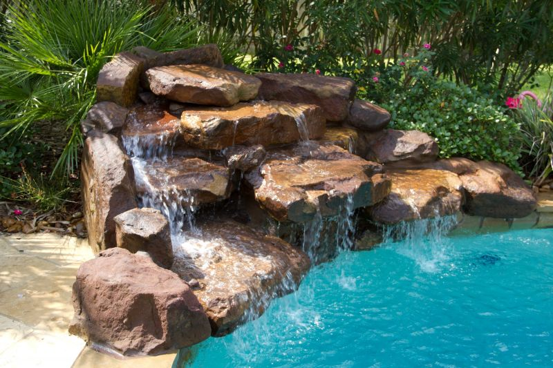 Katy Water Features s Houston Waterfalls
