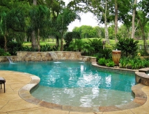 Pool with Sheer Descents