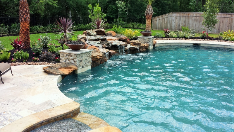 Pools Amp Spas Gallery Custom Inground Pools In Houston