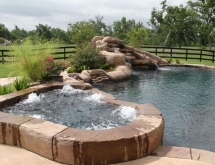 Pool with Spa, Waterfall and Grotto