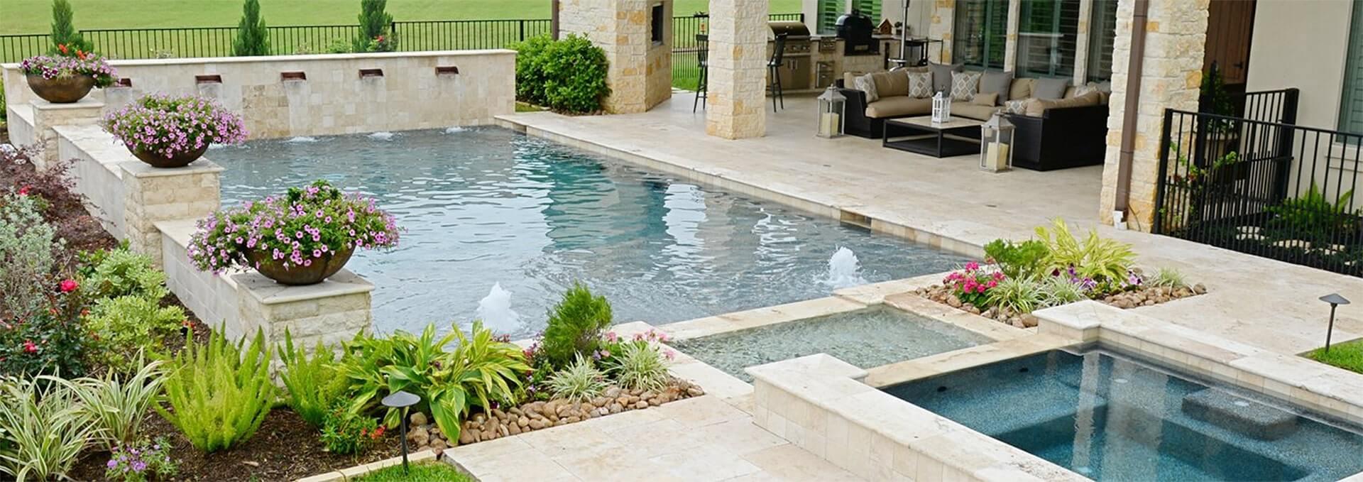 Pool Builder Houston Custom