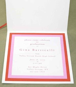 Graduation Invitation ideas from Martha Stewart