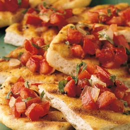 Weber's Grilled Pizza Bread Recipe