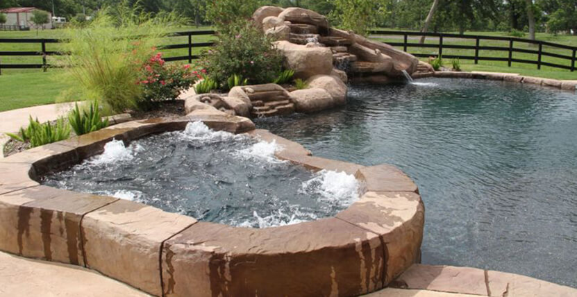 Houston pools spas katy pool builder for Pool design katy