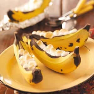 """Taste of Home's"" – Grilled Banana Boats"