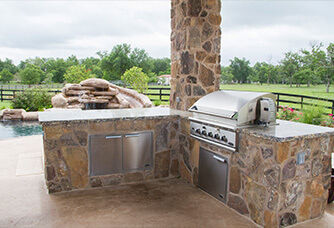 Backyard Living | Houston Outdoor Kitchens | Katy Outdoor ...