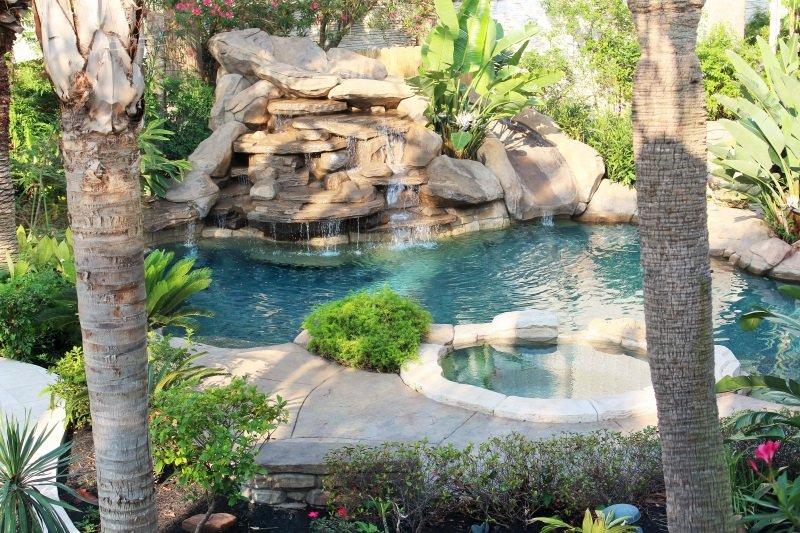 Katy pool builder pool design fulshear cinco ranch outdoor for Pool showrooms