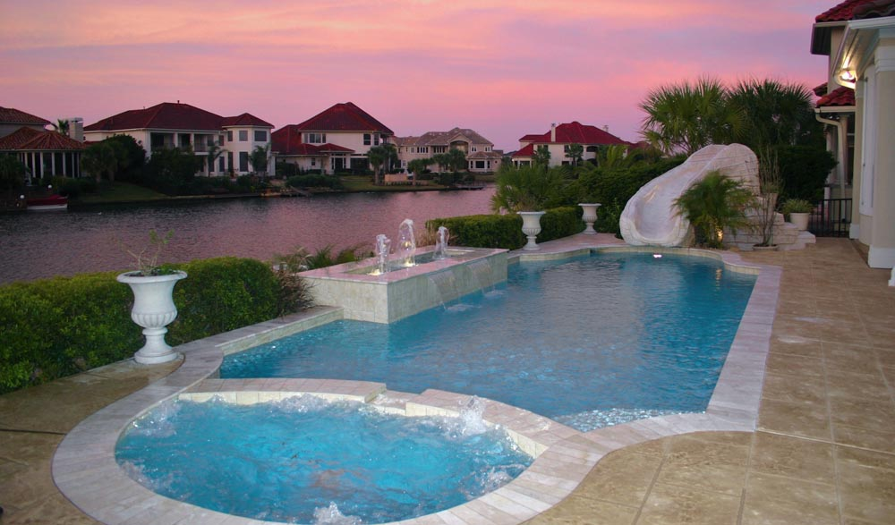 Katy pool builder houston pool design the woodlands for Pool design katy tx