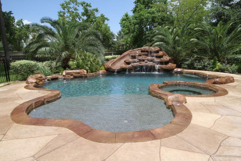 Houston pool builder katy pool designs the woodlands pool for Pool design katy