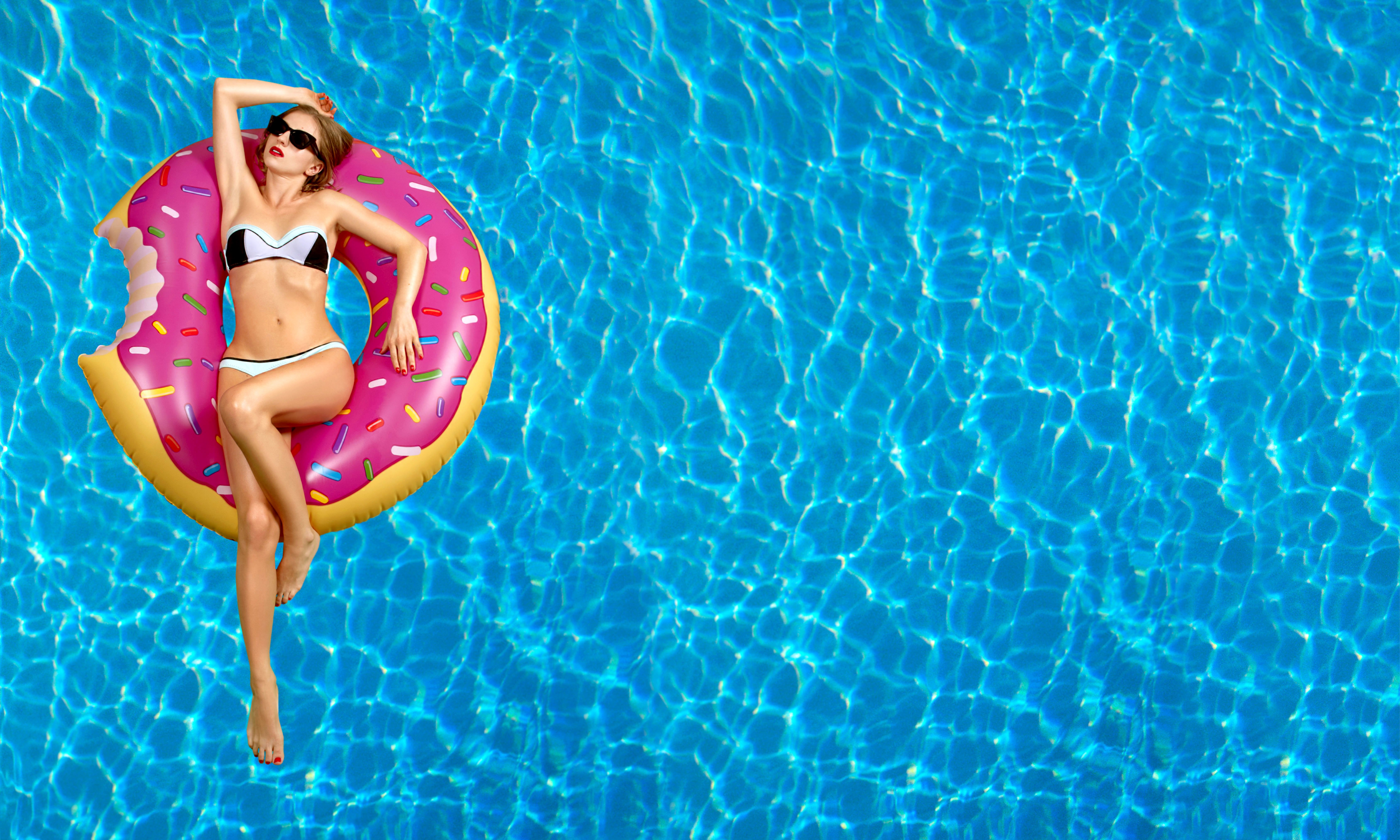 Awesome Swimming Pool Inflatables | Katy Pool Builder | Houston